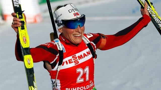 Biathlon - Berger cuts the mustard in Ruhpolding