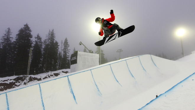 US Elena Hight Jumps AFP/Getty Images