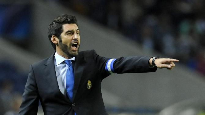 Porto's coach Paulo Fonseca reacts on the touchline during the Champions League group G soccer match between FC Porto and Atletico de Madrid Tuesday, Oct. 1, 2013, at the Dragao stadium in Porto, northern Portugal. Atletico won 2-1