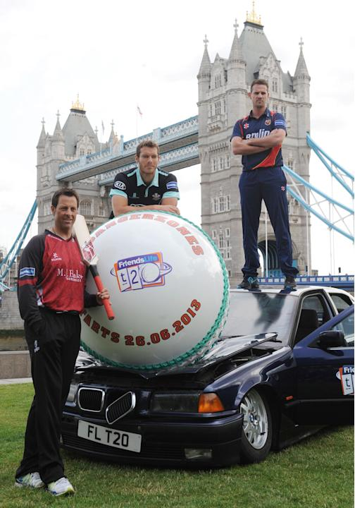 Cricket - Twenty20 Launch - Tower Bridge