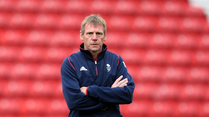 Stuart Pearce was satisfied was England topped qualifying group eight on Monday night