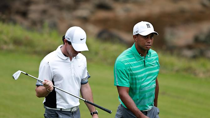 Tiger Woods v Rory McIlroy