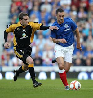 Lee Wallace, pictured, refused to question Craig Levein after losing his place in the Scotland squad