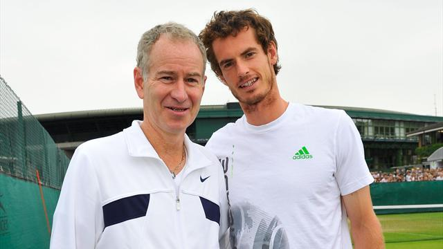Tennis - Andy Murray considering McEnroe as next coach