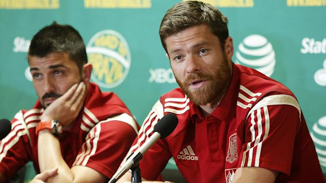 World Cup - Xabi Alonso 'retires from international football'