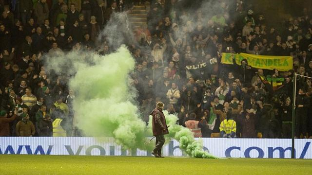 Scottish Premiership - Celtic 'appalled' by fans' damage
