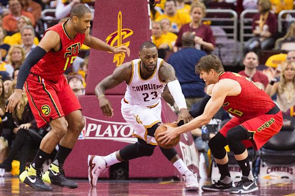 LeBron stars as Cavaliers take NBA series lead over Hawks