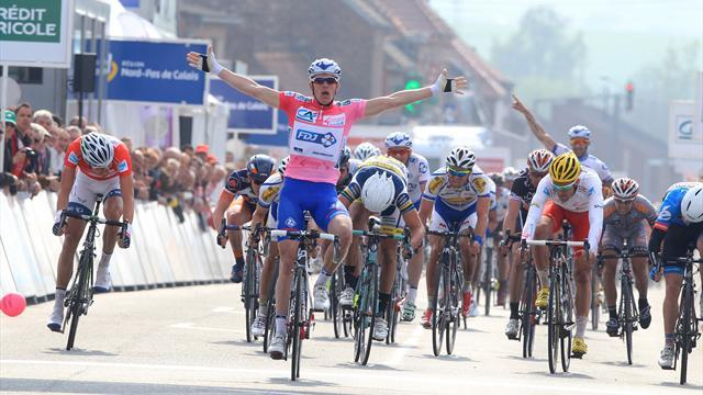 Cycling - Demare wins again in Dunkerque