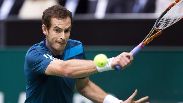 Tennis - Murray cruises through Rotterdam opener