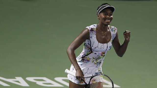 Tennis - Dubai champion Venus claims first title since 2012