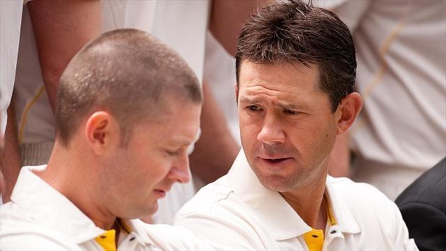 Ashes - Clarke: Ponting has my number