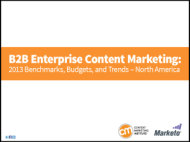 How Enterprises Handle B2B Content: 6 Key Insights From Our Research image b2b content enterprise 2013 research