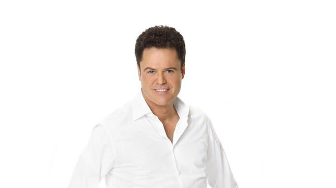 "Singer/actor Donny Osmond competes in season 9 of ""Dancing with the Stars."""