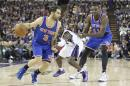 NBA: New York Knicks at Sacramento Kings