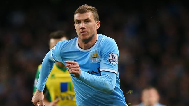 Premier League - Dzeko: Man City were also ruled out two years ago