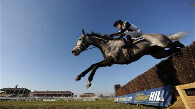 Horse Racing - Quentin Collonges wins big race at Sandown