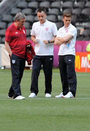 England manager Roy Hodgson, left, has been criticised by FARE for his comments about John Terry
