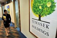 This file photo shows the offices of Temasek Holdings in Singapore, pictured in 2009.