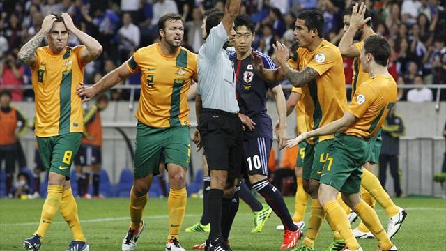World Cup - Neill urges crowds to will Australia to Brazil