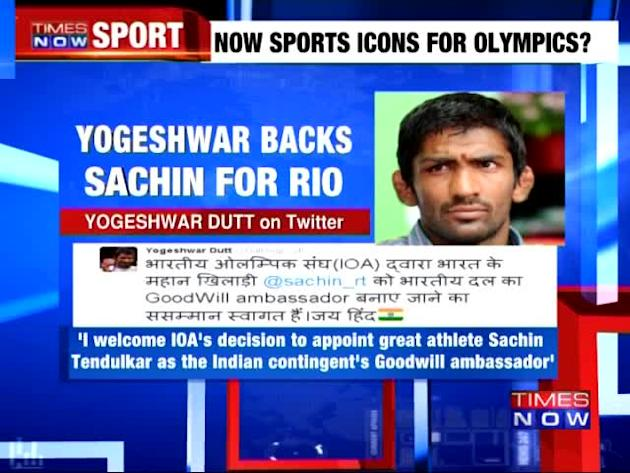 Yogeshwar Dutt backs Sachin for Rio