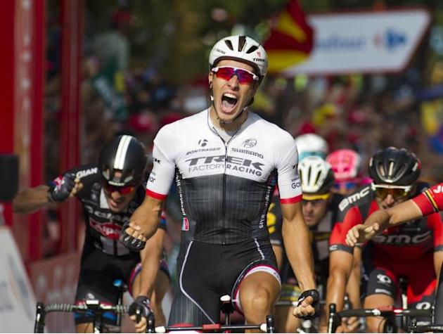 Danny Van Poppel takes Vuelta Espana stage 12 as Tour de France winner Chris Froome withdraws