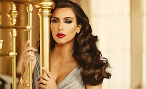 Kim Kardashian Channels Elizabeth Taylor in Her New Fragrance Ad
