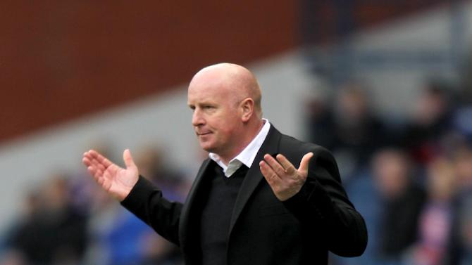Peter Houston was frustrated after Dundee United lost to Kilmarnock
