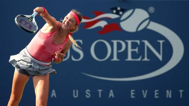 US Open - Azarenka's love affair with New York continues