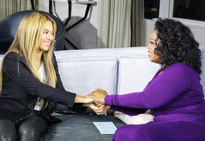Beyonce and Oprah Winfrey | Photo Credits: George Burns/OWN
