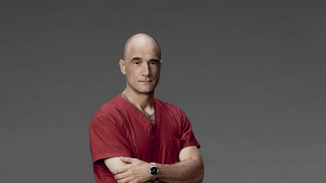 """Elias Koteas stars as Colonel Marks in """"Combat Hospital."""""""