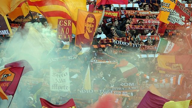 Serie A - Roma face partial stadium closure after anti-Napoli chants