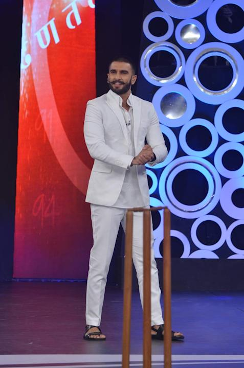 Ranveer Singh At His Candid Best With Sourav Ganguly At Support My School Campaign