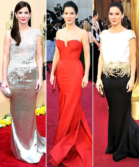 Sandra Bullock: What's Her Best Oscars Dress Ever?