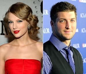 """Taylor Swift Has """"Puppy Dog"""" Crush on Tim Tebow"""
