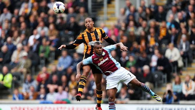 Soccer - Barclays Premier League - Hull City v Aston Villa - KC Stadium