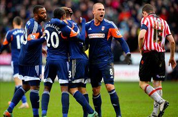 Sheffield United 1-1 Fulham: Rodallega earns replay for Cottagers