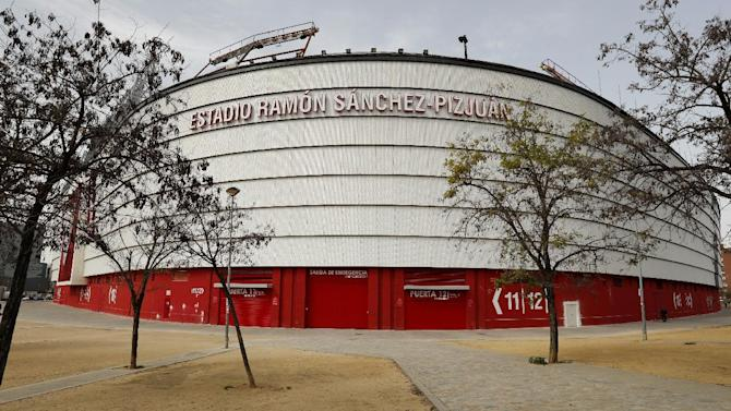 General view of the Ramon Sanchez Pizjuan Stadium