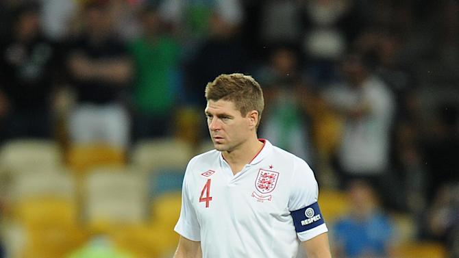 Steven Gerrard is the only England player to make the elite Euro 2012 squad