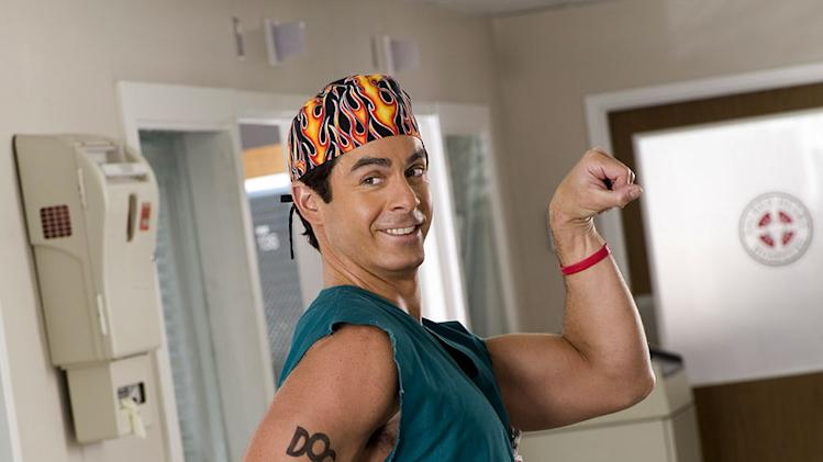 Robert Maschio stars as Todd Quinlan in Scrubs.