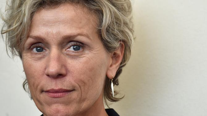 Frances McDormand feted in Venice as HBO series premieres