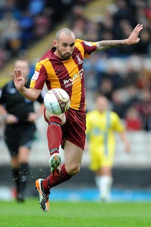 Mark Stewart joined Bradford last summer from Falkirk