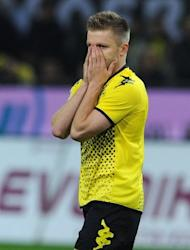 Dortmund's Jakub Blaszczykowski, pictured during their German first division Bundesliga match vs VfB Stuttgart, in Dortmund, on March 30. Dortmund play Wolfsburg next, at Volkswagen Arena, on Saturday