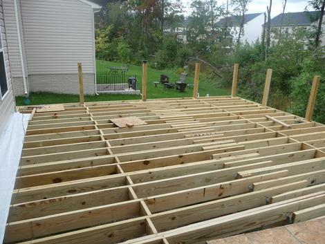 How we built a composite deck for $11,000