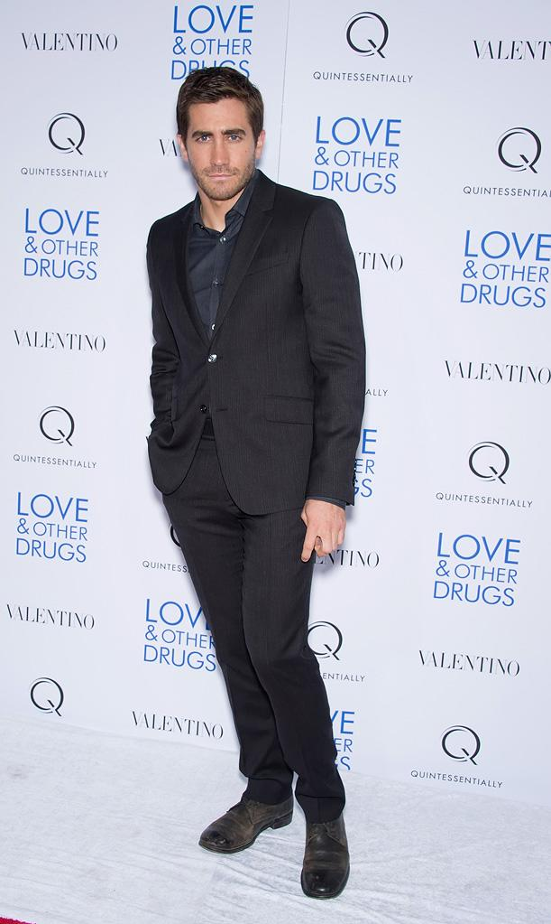 Love and Other Drugs 2010 NYC Screening Jake Gyllenhaal