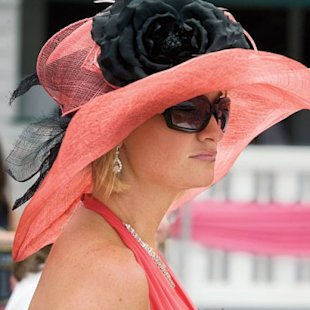 A fashionable new hat is a necessity at the Kentucky Derby.