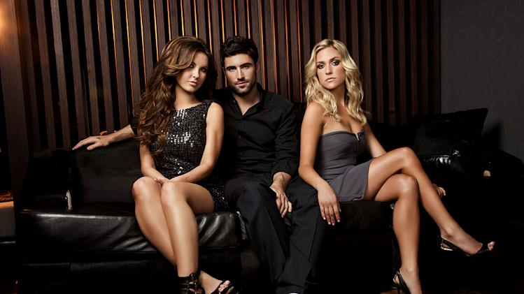 "Audrina Patridge, Brody Jenner, and Kristen Cavallari in the ""The Hills"""