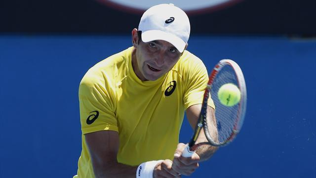 Australian Open - Don't call me 'Mad Dog' barks beaten Matosevic