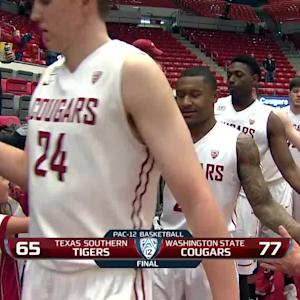 Recap: Washington State men's basketball stays perfect with win over Texas Southern