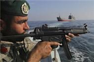 Iran starts war games in Strait of Hormuz