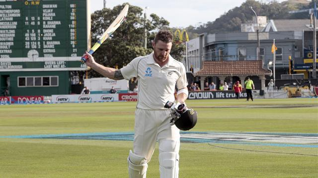 Cricket - McCullum shows maturity with triple-century